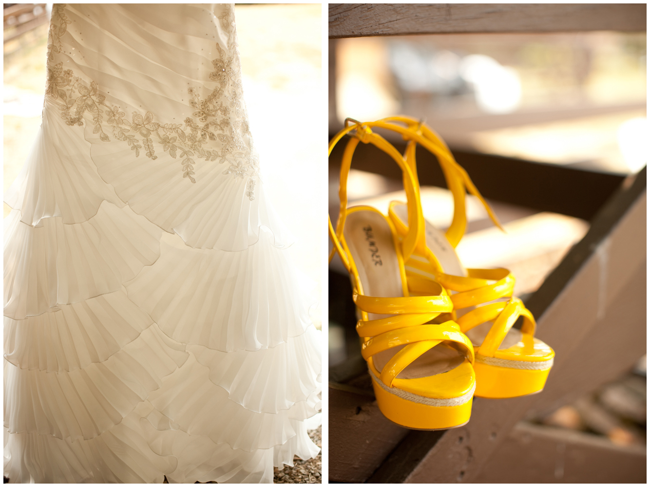 Exceptional Yellow Wedding Shoes