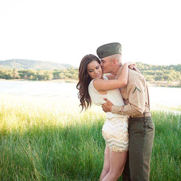Medford Oregon Photographer - A Marine and his Girl