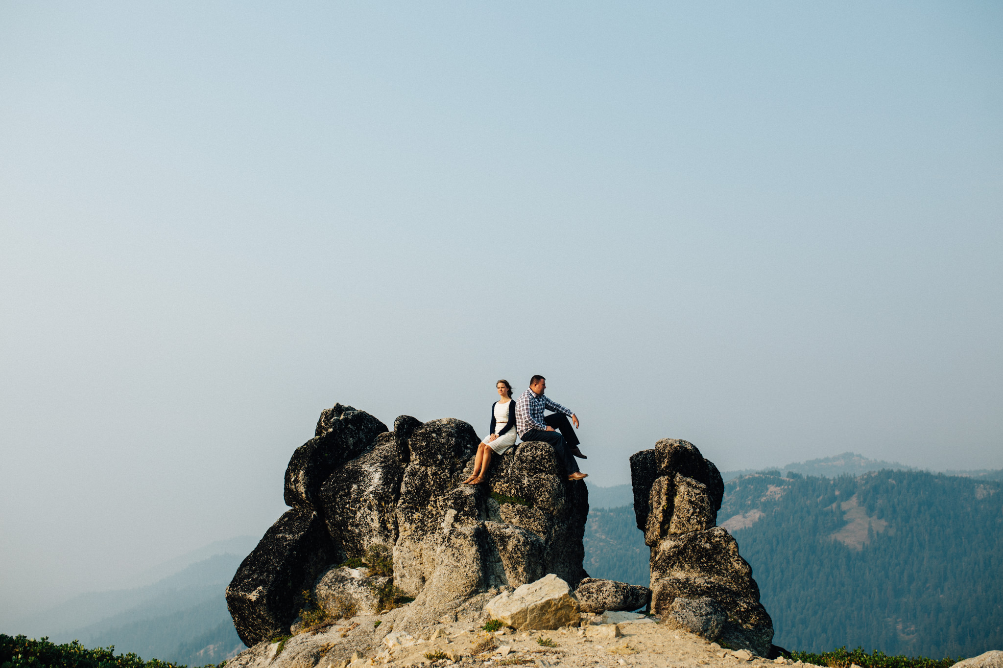 Engagement Session on Mount Ashland