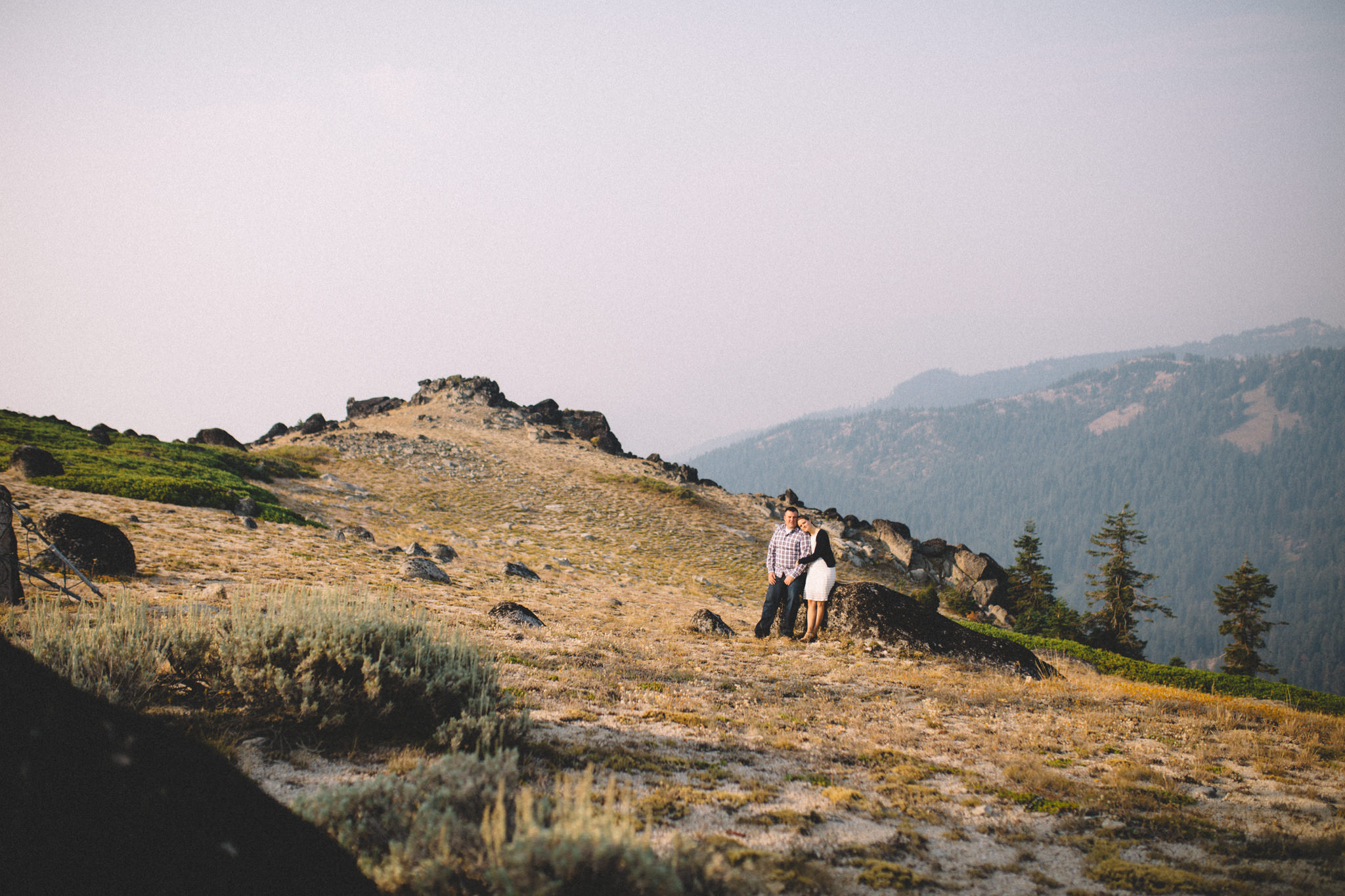 Mount Ashland Engagement Session