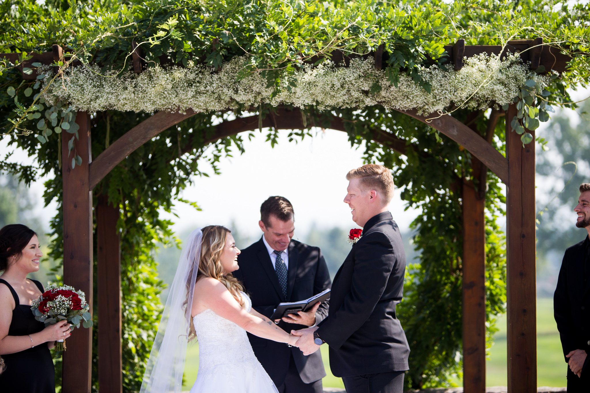 Rogue Valley Country Club Wedding